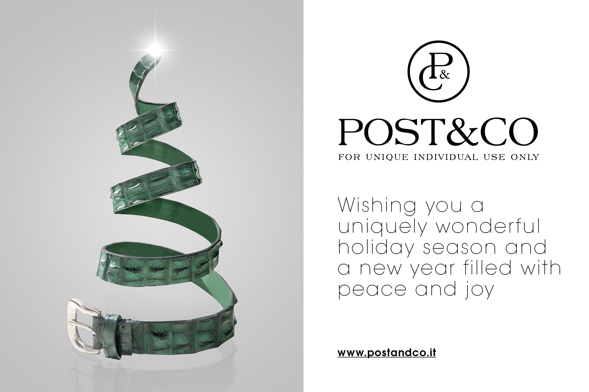 Merry Christmas from Post&Co